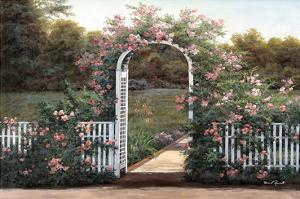 Rose Trellis by Diane Romanello
