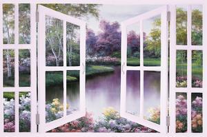Springtime Symphony Door by Diane Romanello