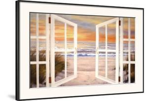 Sunset Beach by Diane Romanello