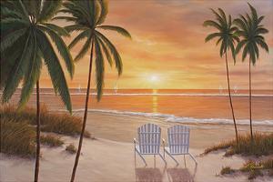 Tropical Sun Watch by Diane Romanello