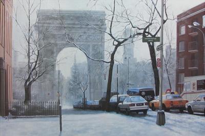 Washington Square by Diane Romanello