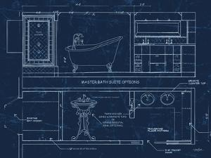 Bath Blueprint 1 by Diane Stimson