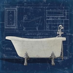 Bath Blues 1 by Diane Stimson