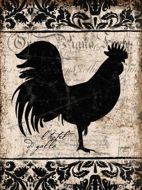 Black Rooster 1 by Diane Stimson