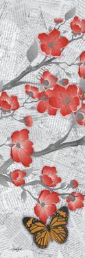 Cherry Blossom Butterflies 2 by Diane Stimson