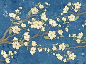 Cherry Blossoms Blue by Diane Stimson