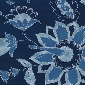 Denim Floral 1 by Diane Stimson