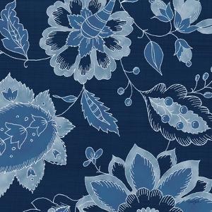 Denim Floral 2 by Diane Stimson
