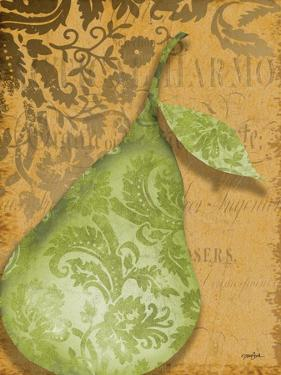 Green Pear Damask by Diane Stimson