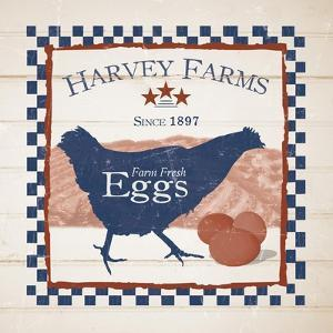 Harvey Farms Eggs by Diane Stimson
