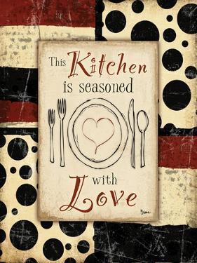Kitchen Love Plate by Diane Stimson