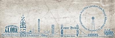 London Skyline Blue by Diane Stimson