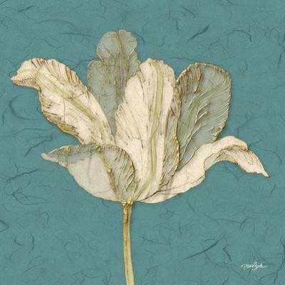 Muted Teal Behind Tulip by Diane Stimson