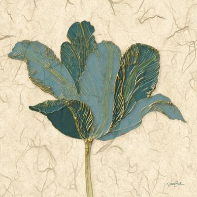 Muted Teal Tulip 2 by Diane Stimson