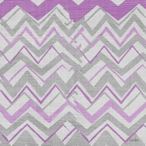 Orchid Gray Stripes 1 by Diane Stimson