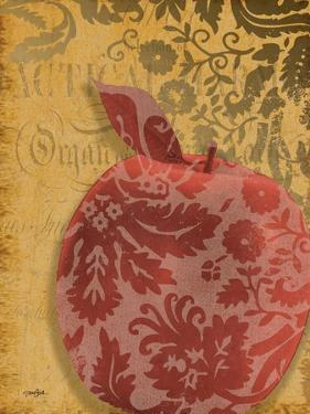 Red Apple Damask by Diane Stimson