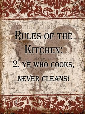 Rules of Kitchen 2 by Diane Stimson