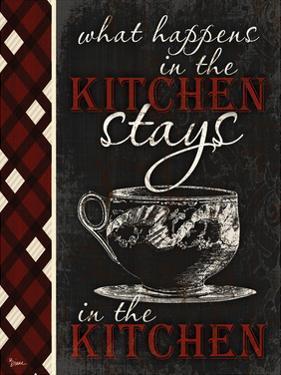 Stays In Kitchen by Diane Stimson
