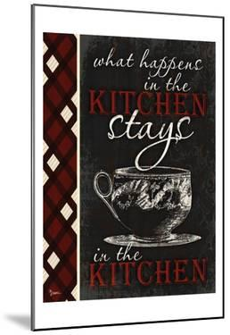 Stays In Kitchen by Diane Stimson