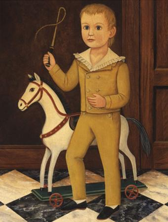 Boy with Horse by Diane Ulmer Pedersen