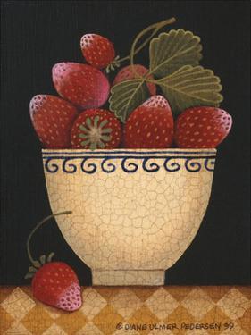 Cup O Strawberries by Diane Ulmer Pedersen