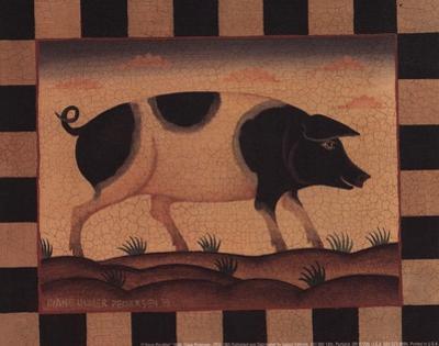 Farm Pig by Diane Ulmer Pedersen