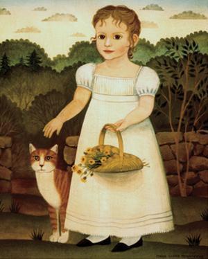 Girl with Cat by Diane Ulmer Pedersen