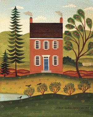 House and Lake by Diane Ulmer Pedersen