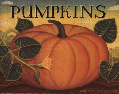 Pumpkins by Diane Ulmer Pedersen