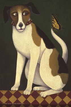 Temptation II (Dog) by Diane Ulmer Pedersen