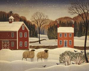 Winter Sheep I by Diane Ulmer Pedersen