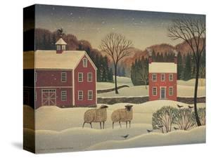 Winter Sheep I by Diane Ulmer Pedersen
