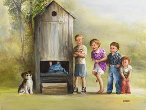 Outhouse by Dianne Dengel
