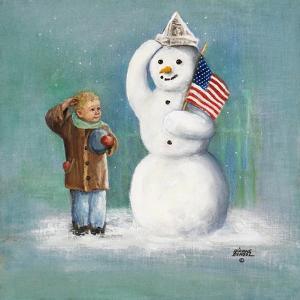 Snowman by Dianne Dengel