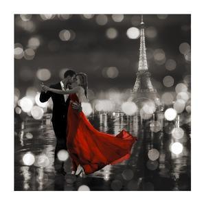 Midnight in Paris (BW) by Dianne Loumer