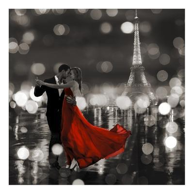 Midnight in Paris (BW)