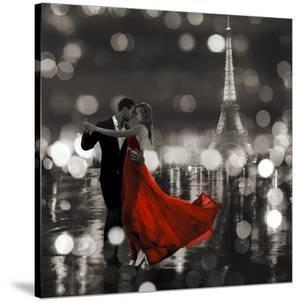 Midnight in Paris (BW) by Dianne Loumer