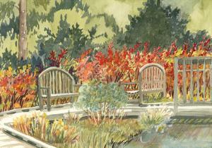 Aquarelle Garden I by Dianne Miller