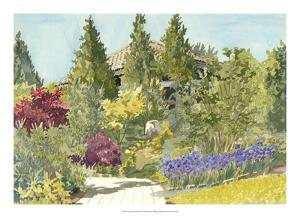 Aquarelle Garden IX by Dianne Miller