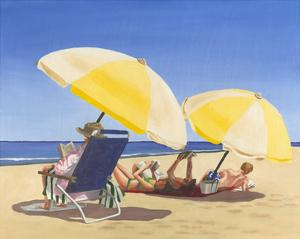 Beach Vacation IX by Dianne Miller