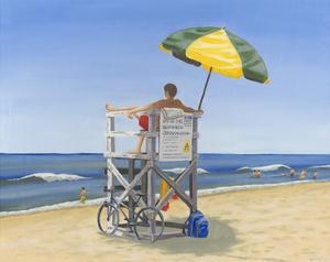 Beach Vacation VII by Dianne Miller