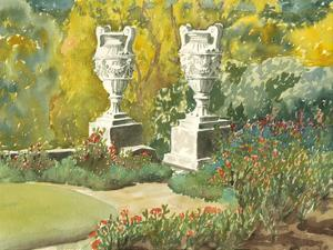 Plein Air Garden V by Dianne Miller