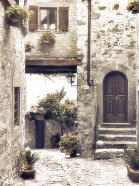Courtyard by Dianne Poinski