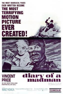 Diary of a Madman, Vincent Price, 1963