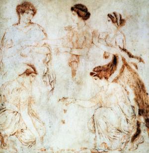 Dice Players, Herculaneum, 1st Century AD