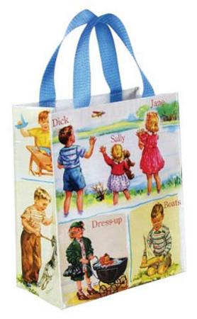 Dick and Jane Handy Bag