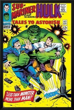 Tales to Astonish No.83 Cover: Hulk and Thunderbolt Ross by Dick Ayers