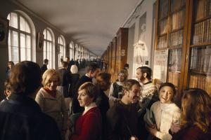 St. Petersburg, Russia. American and Russian Students Attend Classes at Leningrad University by Dick Durrance
