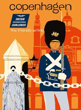 Copenhagen - Irish International Airlines - The Friendly Airline by Dick Negus & Philip Sharland