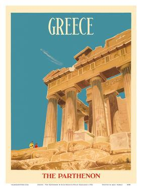 Greece - The Parthenon - Temple of Athena by Dick Negus & Philip Sharland